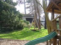 The Tree House and Rope Slide found in our Pirate Ship area.